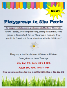 Playgroup in the Park @ Kiwanis Park