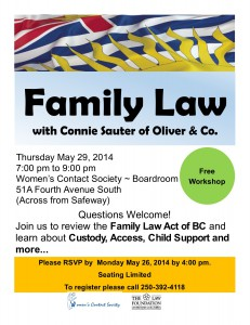 Family Law Poster 2014